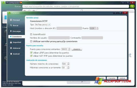 Screenshot MediaGet per Windows XP