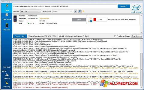 Screenshot FlashBoot per Windows XP