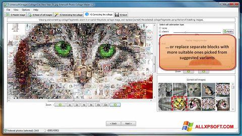 Screenshot Photo Collage Maker per Windows XP