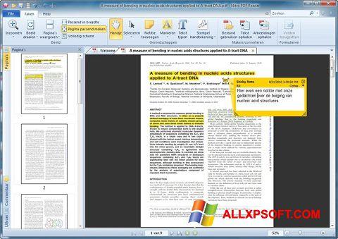 Screenshot Nitro PDF Reader per Windows XP