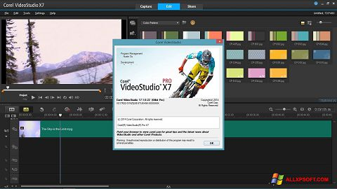 Screenshot Corel VideoStudio per Windows XP
