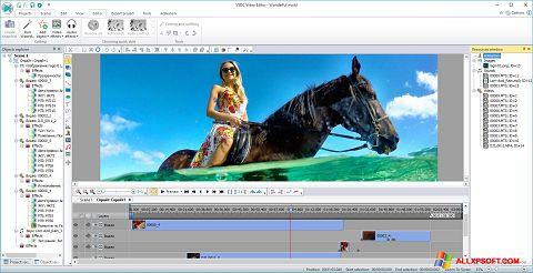 Screenshot Free Video Editor per Windows XP