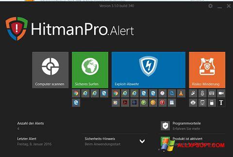 Screenshot HitmanPro per Windows XP