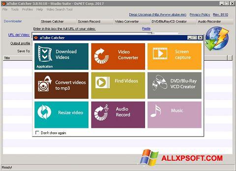 Screenshot aTube Catcher per Windows XP