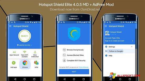 Screenshot Hotspot Shield per Windows XP