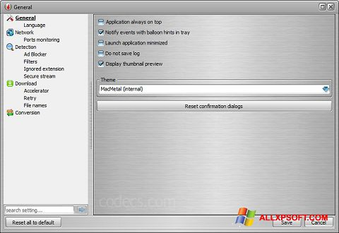 Screenshot VSO Downloader per Windows XP