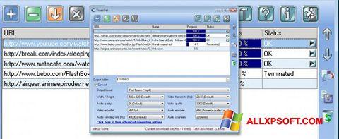 Screenshot VideoGet per Windows XP