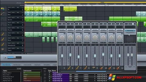 Screenshot MAGIX Music Maker per Windows XP