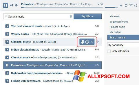 Screenshot SaveFrom.net per Windows XP