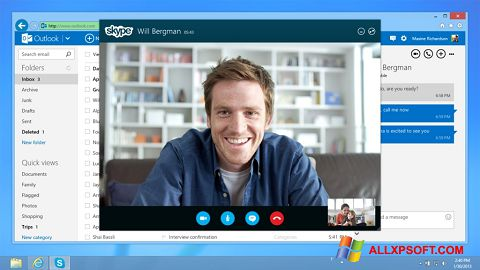 Screenshot Skype per Windows XP