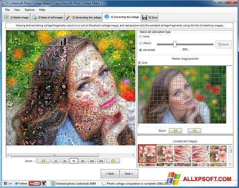 Screenshot Photo Collage per Windows XP