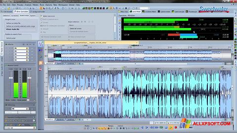 Screenshot WaveLab per Windows XP