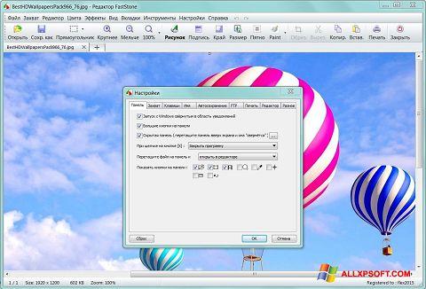 Screenshot FastStone Capture per Windows XP